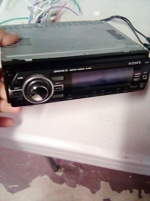 Sony cd player mp3 with aux for Sale in Anaheim, CA