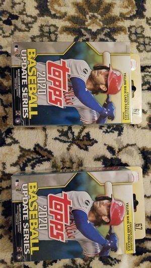 Mlb topps 2020 baseball update series cards hanger box for Sale in Hanover Park, IL