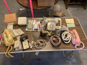 Vintage phone lot, West York, not tested unknown working condition for Sale in York, PA