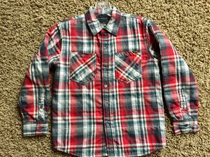 VOLCOM WORKWEAR PLAID PADDED / LINED BUTTON UP FLANNEL JACKET - BOYS SIZE MEDIUM - NEVER WORN - GREAT QUALITY - WARM - PRICE FIRM - COAT, SHIRT Kids for Sale in Rancho Santa Margarita, CA