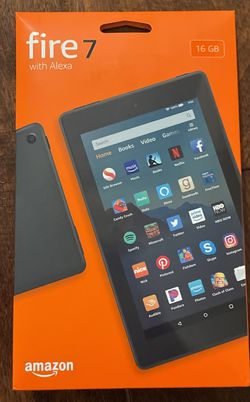Amazon Fire 7 w/16gb & Alexa for Sale in La Verne,  CA