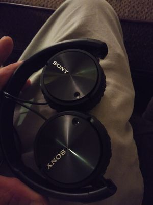 Sony head phone / mic for Sale in San Antonio, TX