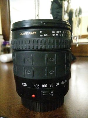 Quantaray lens for Canon 28-200mm for Sale in Rockville, MD