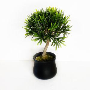 Decorative Mini Tree Faux Green Plant EUC for Sale in Carlsbad, CA