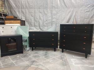 Mid century bedroom set for Sale in Ashville, NY