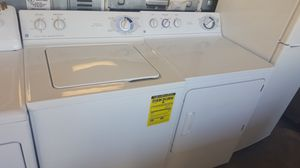GE WASHER DRYER MATCHING SET SUPER CAPACITY HEAVY DUTY WARRANTY DELIVERY for Sale in Fort Washington, MD
