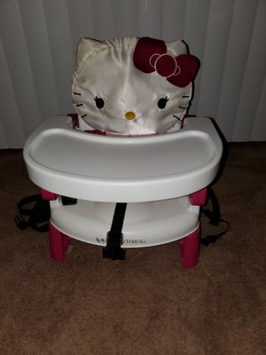 Baby booster seat portable Hello Kitty for Sale in Temecula, CA