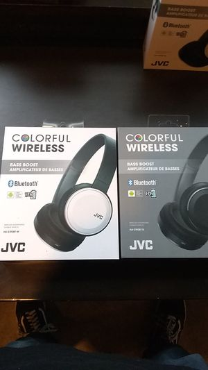 JVC colorful wireless bass boost Bluetooth headphones for Sale in Seattle, WA