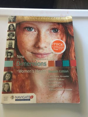 New Dimensions in Women's Health 7th Edition by Linda Lewis Alexander for Sale in Los Angeles, CA
