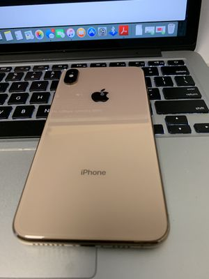 iPhone XS Max 64gb Carrier AT&T H2O for Sale in Seattle, WA