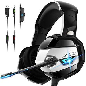 Gaming Headset - Xbox One Headset PS4 Headset [2019 K5 Pro] with Noise Canceling Mic &7.1 Surround Bass, Over Ear Gaming Headphones for Sale in Hacienda Heights, CA