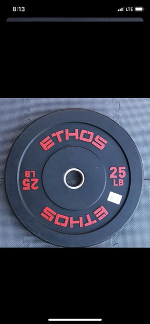 BUMPER PLATES 25LB PAIR for Sale in Downey, CA
