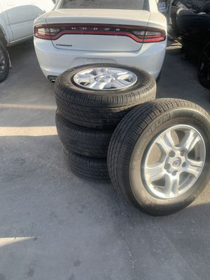 2016 Toyota Sequoia wheels and tires 500 obo for Sale in Santa Clara, CA