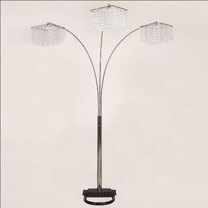 Floor lamp glass new for Sale in Houston, TX
