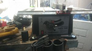 Central machinery table saw for Sale in Escondido, CA