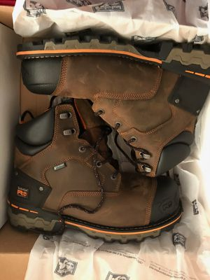 TIMBERLAND PRO. SIZE 10 MENS STEEL TOE BOOTS. for Sale in Lincolnia, VA