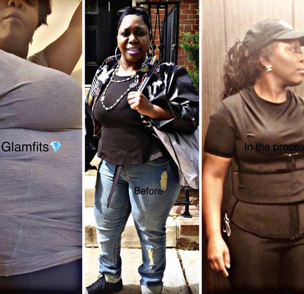 GlamFits waist trainer