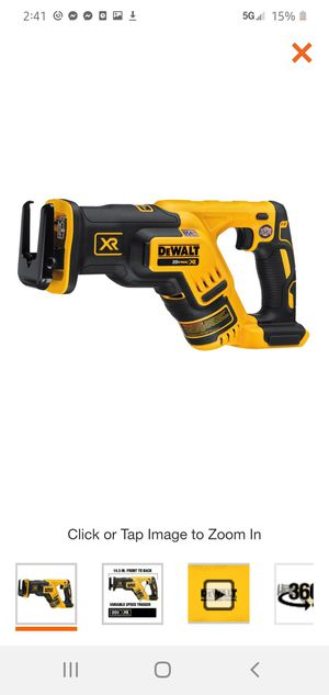 DEWALT 20-Volt MAX XR Lithium-Ion Cordless Brushless Compact Reciprocating Saw (Tool-Only) for Sale in Dumfries, VA