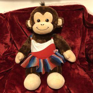 "18"" Build a Bear Monkey with USA leotard dress ! Teddy Bear monkey plush doll stuffed animal plushie toy sale! Free gift with purchase! for Sale in Phoenix, AZ"