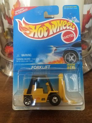 Hot wheels forklift #475 for Sale in San Antonio, TX
