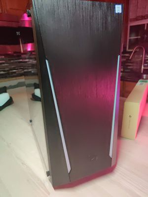 PC case iBuypower gaming desktop computer case RGB led front panel tempered glass usb 3.0 for Sale in Lakewood, CA