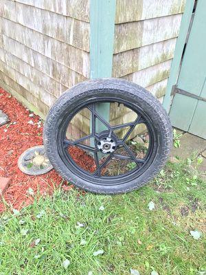 Suzuki GS wheel and tire mounted for Sale in Dartmouth, MA