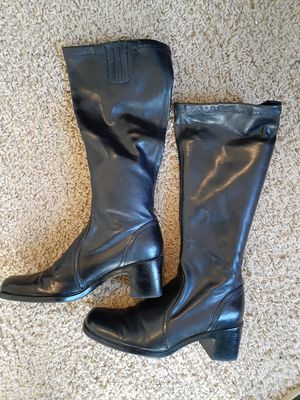 Brand new black ladies boots m. Size 6. 5 for Sale in Lake Park, NC
