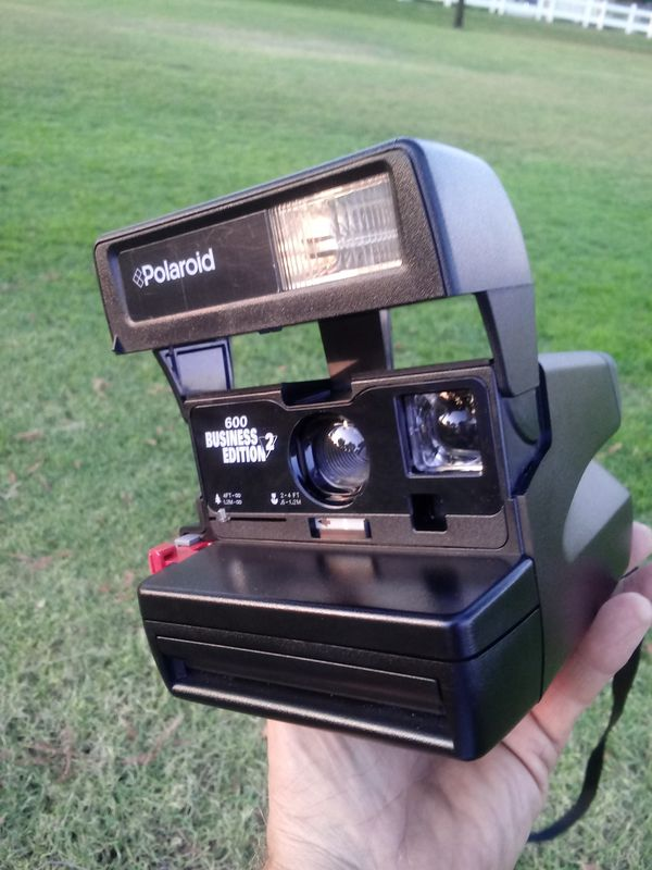 Polaroid 600 Business Edition Two LIKE-NEW