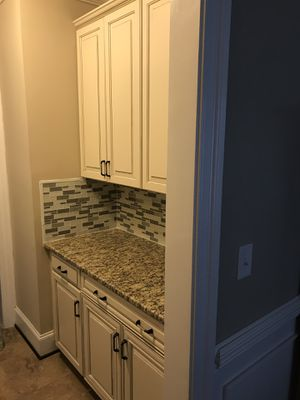 Battle pantry kitchen cabinet for Sale in Gainesville, VA