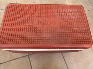 igloo cooler sold as is for Sale in El Paso, TX