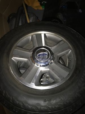 Ford rims with tires for Sale in Anaheim, CA