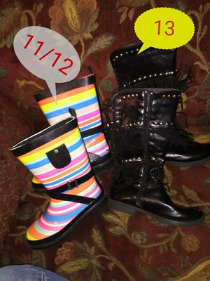 Girls boots new for Sale in Halfway, KY
