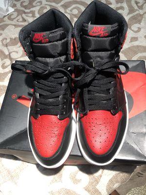 Jordan 1 banned bred 2016 size 10 for Sale in Phoenix, AZ