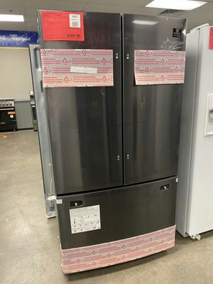 NEW Samsung Black Stainless French Door Refrigerator 1 Year Warranty Included for Sale in Gilbert, AZ