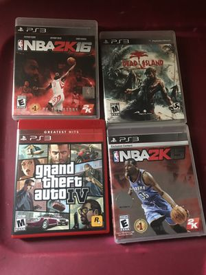 PS3 games for Sale in Charlotte, NC