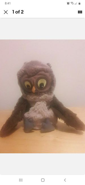 Ikea Vandring Uggla Owl Puppet Plush Stuffed Soft Animal Brown Halloween for Sale in City of Industry, CA