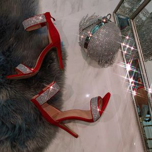 Red rhinestone heels for Sale in Moreno Valley, CA