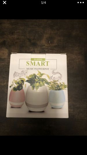 Musical Bluetooth flower pots for Sale in Davie, FL