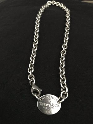 Authentic Oval Tiffany & Co sterling for Sale in San Jose, CA