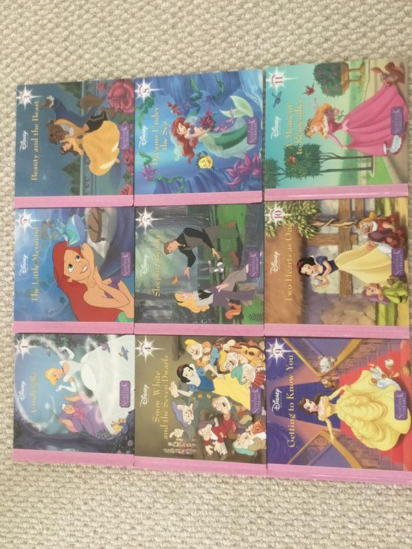 9 Disney Books in good condition....