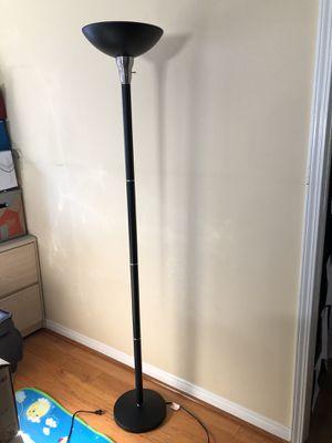Floor lamp black for Sale in Los Angeles, CA