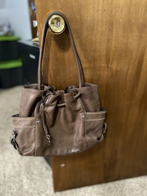 Fossil leather bag brown for Sale in Chesterfield, VA