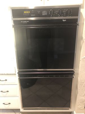 Double Electric Range & Side by Side Refrigerator for Sale in NO POTOMAC, MD