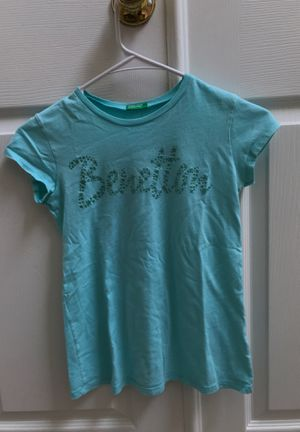 Benetton shirt 👕 140 cm XXS for kids for Sale in Cumming, GA