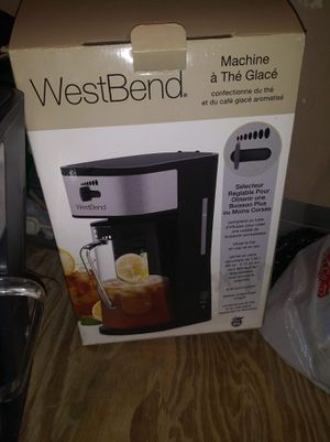 West bend Iced tea/ iced coffee maker for Sale in Oklahoma City, OK