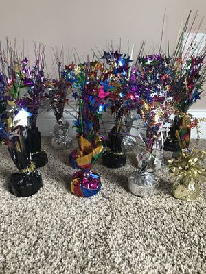 13 centerpieces or balloon weights for Sale in Cincinnati, OH