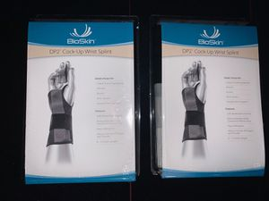 TRADE OR SELL - Brand New Unused DP2 Cock-Up Wrist Braces -Both Left & Right Wrists for Sale in Peoria, AZ