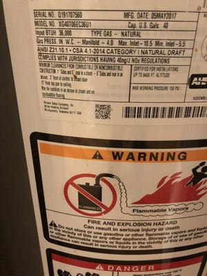 Furnace and hot water tank for Sale in Chicago, IL