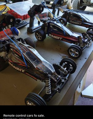 3 traxxas bandits 8 battery's and hella parts for Sale in Portland, OR