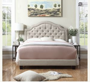 Brand New Upholstered Twin Bed frame for Sale in New York, NY